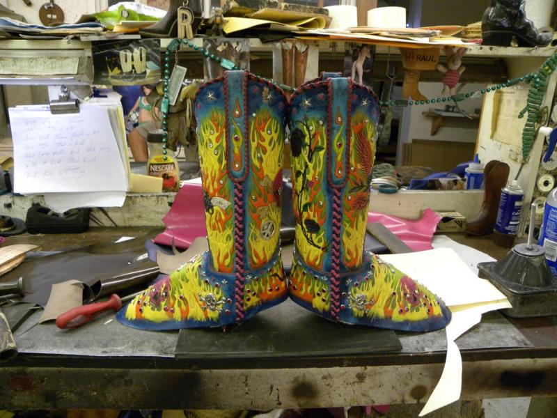 Rockstar Cowgirl Boots..available now $15,000